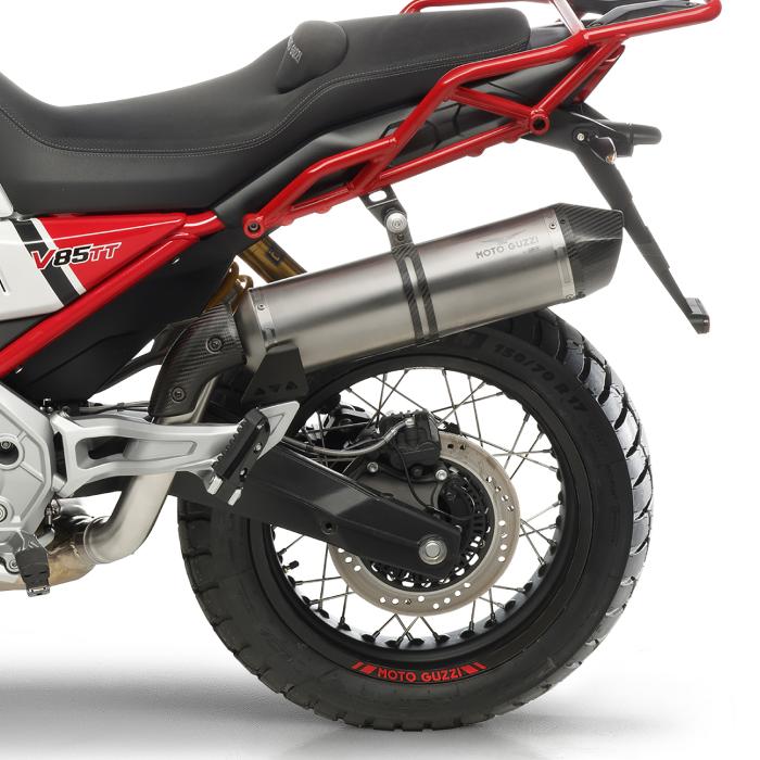 Image of Moto Guzzi By Arrow Exhaust