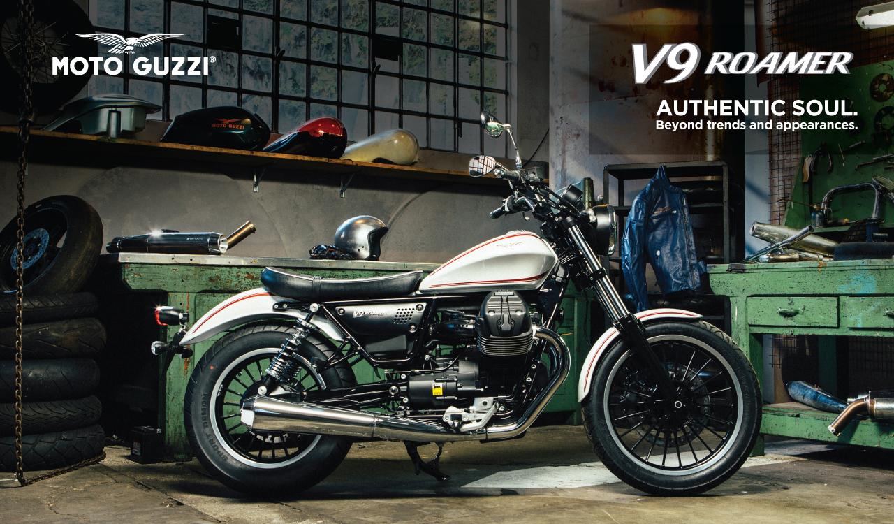 Image of Piaggio Indonesia Unleashes Moto Guzzi V9 Series