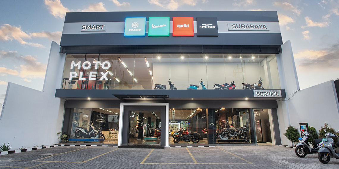 PT Piaggio Indonesia Widens Its Presence of Premium Motoplex 4 Brand Dealership, with a New Opening in East Java